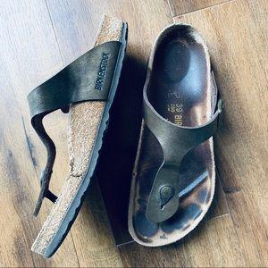 Birkenstock Gizeh burko-flor Sandals sz 39